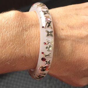 Louis Vuitton Jewelry - Authentic Louis Vuitton Pink Bangle Bracelet 💗